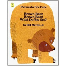 Brown Bear, Brown Bear, What Do You See? (Picture Puffin)(Paperback)
