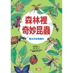 自然世界 森林裡奇妙昆蟲