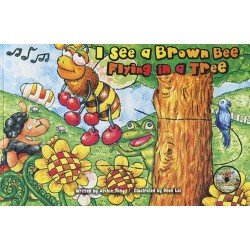 I See a Brown Bee Flying in a Tree (附故事讀劇CD)