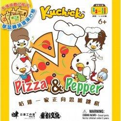 咕雞一家:Pizza&Pepper正向思維跳棋