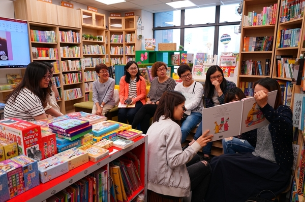閱讀文化 繪本 童本 共讀 活動 親子活動 家長